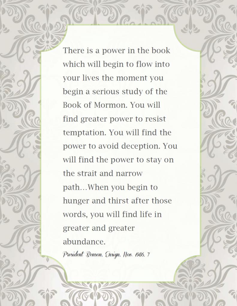 book of mormon quote