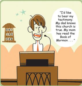 comic testimony