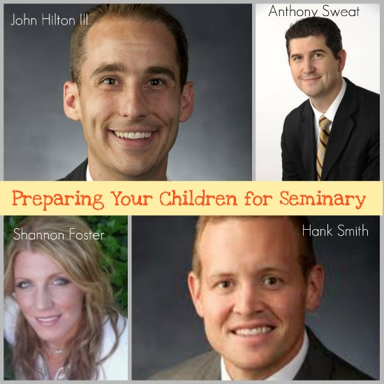 This is a great article by four seasoned seminary teachers! Lots of great ideas for parents!!