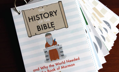 History of the Bible and Why the World Needed the Book of Mormon by Shannon Foster - you can print this book off! Everything is explained so clearly.