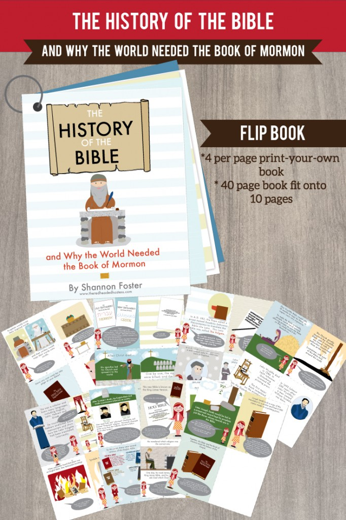 Why do we need the Book of Mormon? This awesome printable book just lays it out so clearly. Kids and adults will learn tons!