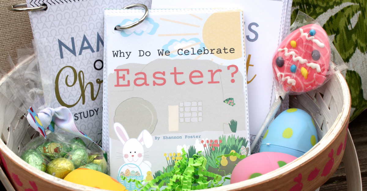 Wonderful print-your-own book about the meaning of Easter! This teaches about the resurrection and the symbols of Easter! So great for Easter baskets!