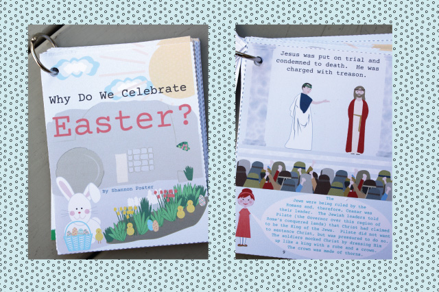 Awesome book about the meaning of Easter! And its a print-your-own so you can have it immediately! Teaches about the Atonement, Resurrection and Easter symbols. You have to check it out!