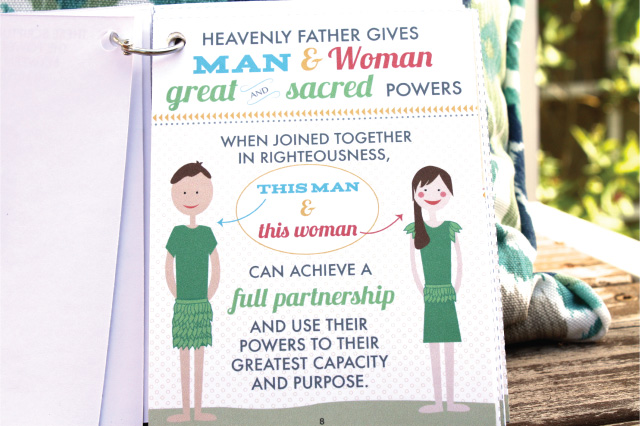 Powerful book about motherhood and the priesthood. The teachings of Adam and Eve are so insightful! And you can print this!