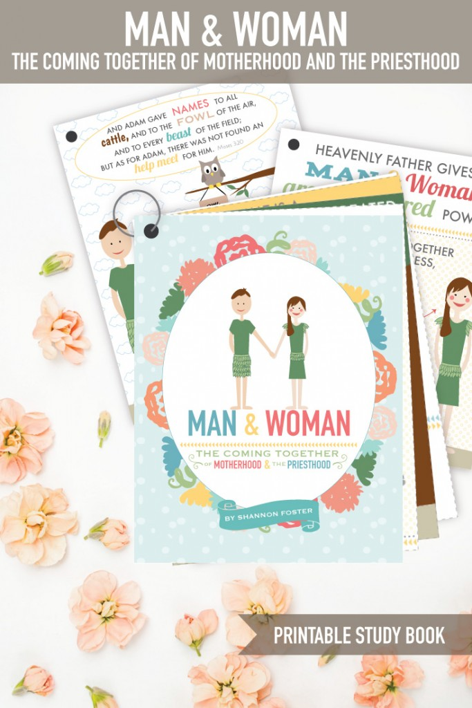 LDS Women and the Priesthood. This darling printable book teaches the powerful relationship between man and woman. This teaches awesome doctrine and has study pages at the end!