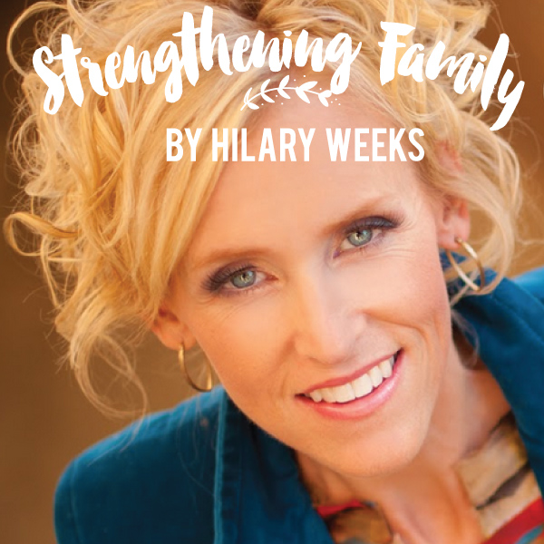 How can I strengthen my family?  Amazing article by popular LDS singer Hilary Weeks!  I love the family tradition she shares - what a fun and inspiring mom!
