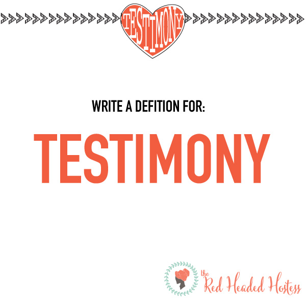 How Can I Strengthen My Testimony? May Young Women lesson. These free social media images are awesome to help prepare the youth before the lesson, or follow-up after!