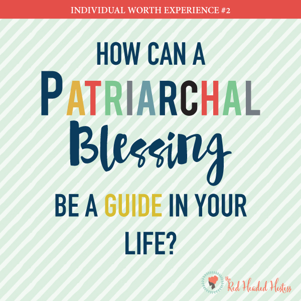 How can a Patriarchal Blessing help me? May young women - FREE social media images that help you impact your young women before and after the lesson!