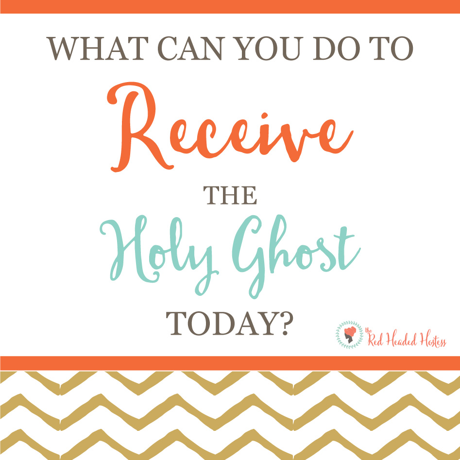 July Young Women - How Do I Receive the Gift of the Holy Ghost? Free social media images. Great way to connect with the youth before or after a lesson!