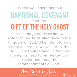 What covenants did I make at baptism? July Come Follow Me. FREE social media images that you can post or text before or after your lesson! www.theredheadedhostess.com