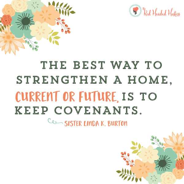Why are covenants important in my life - July young women lesson helps. FREE social media images! You can text or put these on Facebook or instragm to engage the youth before or after the lesson!