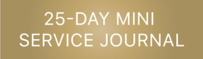 25-Day Mini Service Journal
