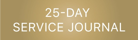 25-Day Service Journal by The Red Headed Hostess