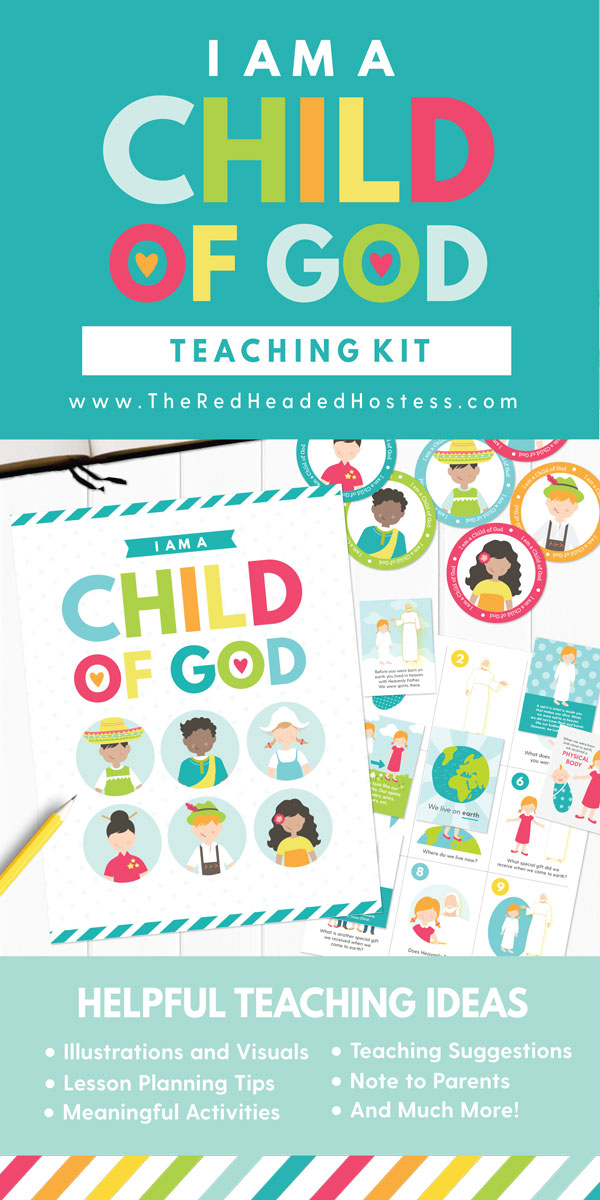 I Am a Child of God - Primary 2 Lesson 3 (Fun Primary games, teaching ideas, and more!)